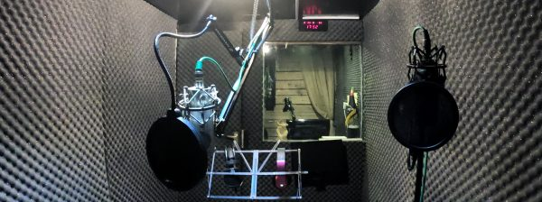 استودیو صدا/محل تمرین عملی کارگاه گویندگی و فن بیان